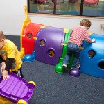 Kids Playing in Preschool Classroom papillion NE