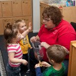 Preschool Students Asking Questions in our Preschool and Pre-K Facility