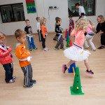 Kids Learning Kung-fu at Preschool