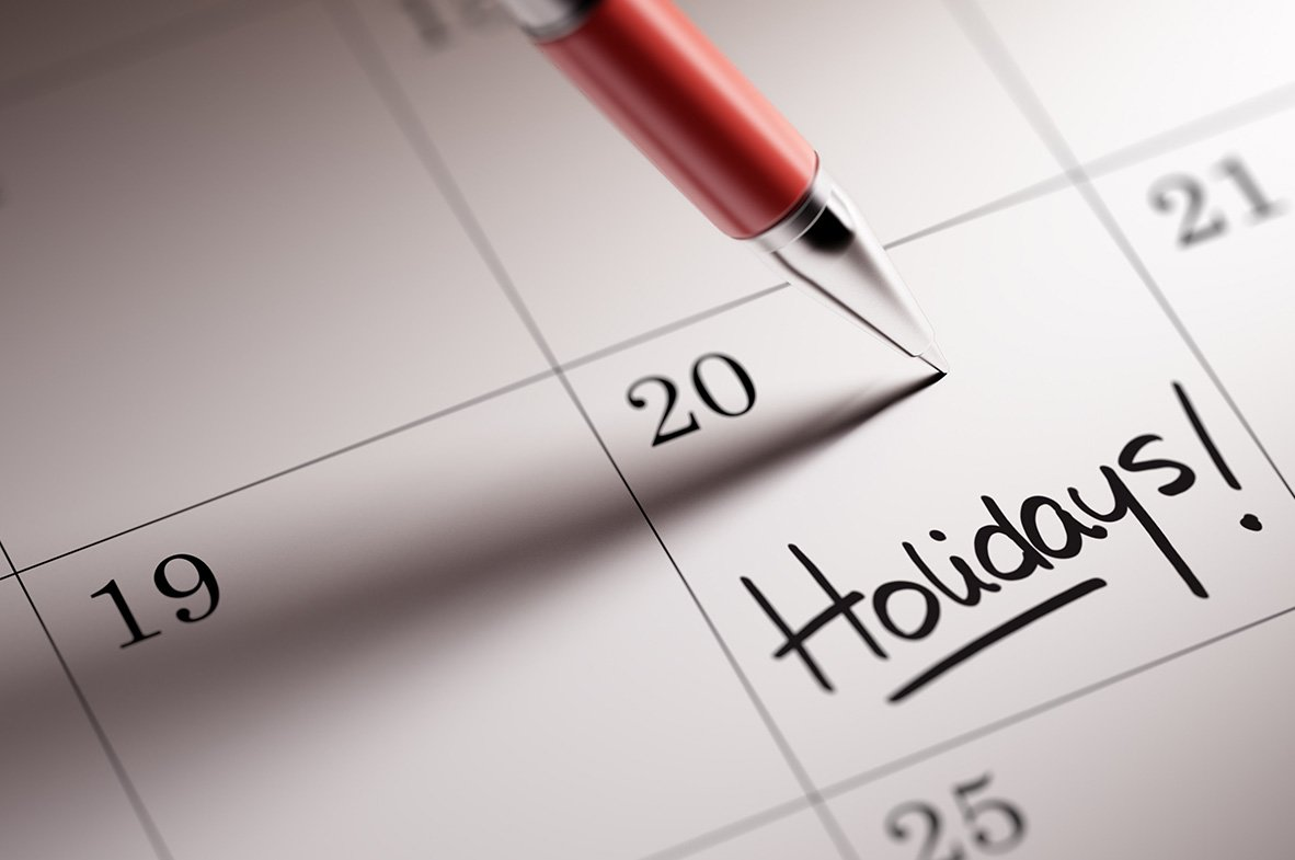 calendar with holidays