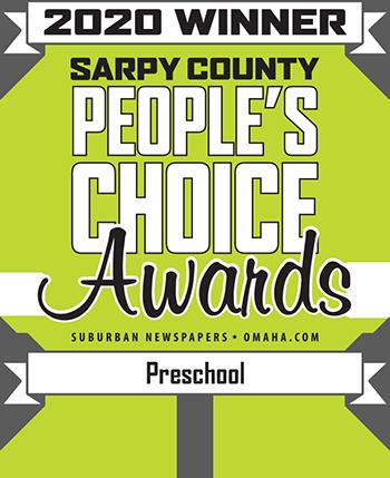 Sarpy County 2020 People's Choice Awards Preschool Winner Transparent Background
